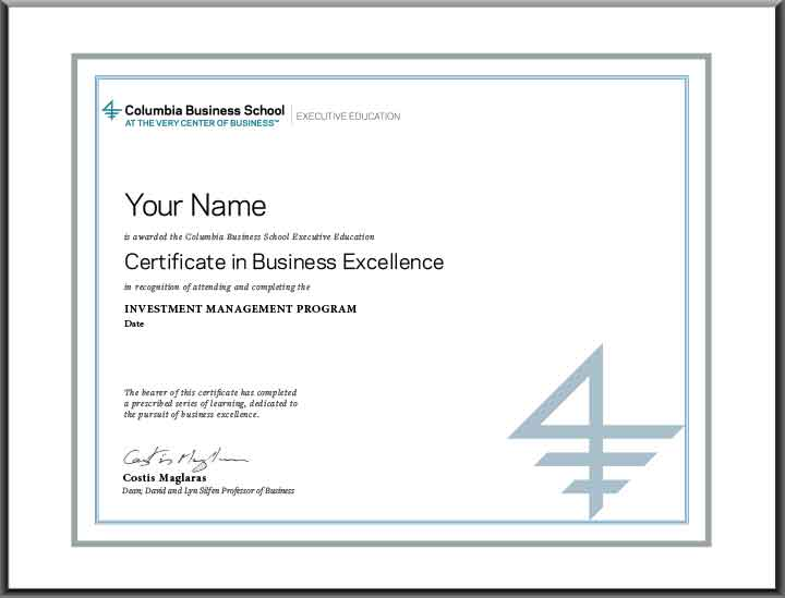 Image to accompany text - Certificate In Business Excellence