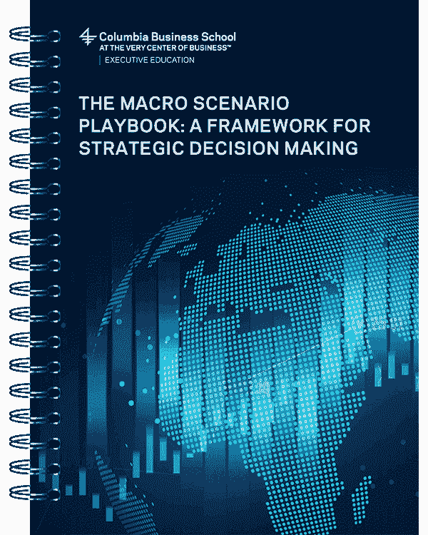 Image showcasing the The Macro Scenario Playbook: A Framework for Strategic Decision Making