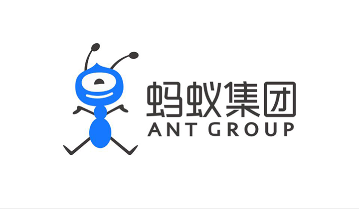 Logo of Ant Group to portray its case study