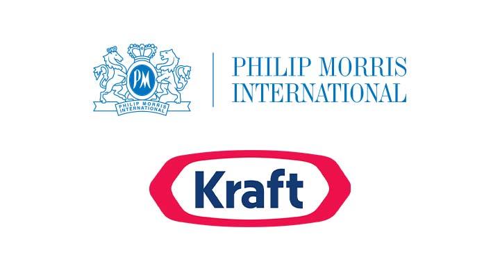 Logo for PHILIP MORRIS + KRAFT FOODS