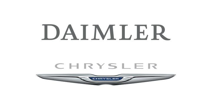 Logo for DAIMLER + CHRYSLER