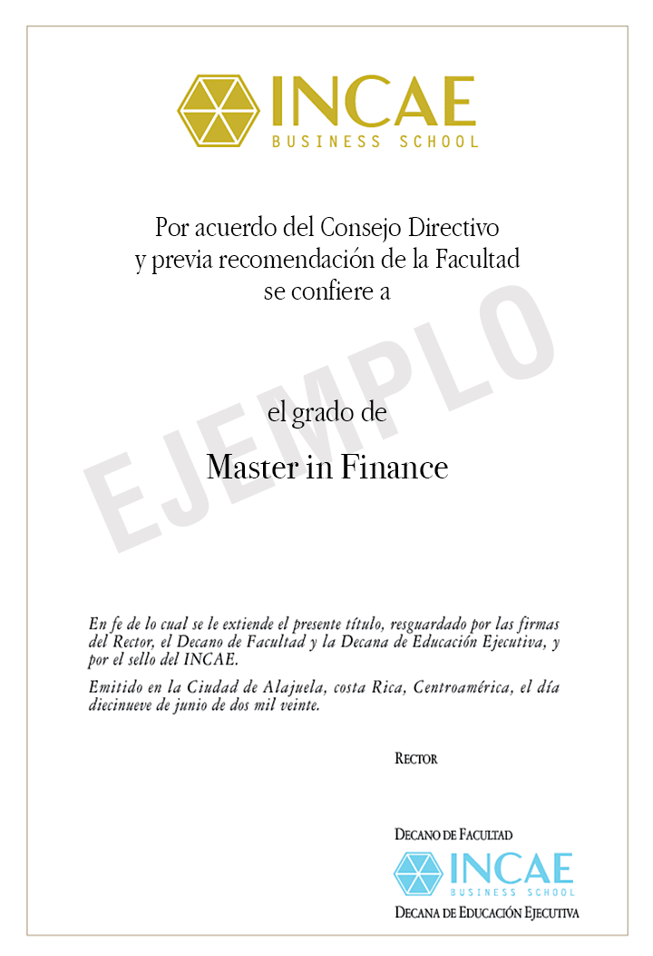 Example image of certificate that will be awarded after successful completion of this program