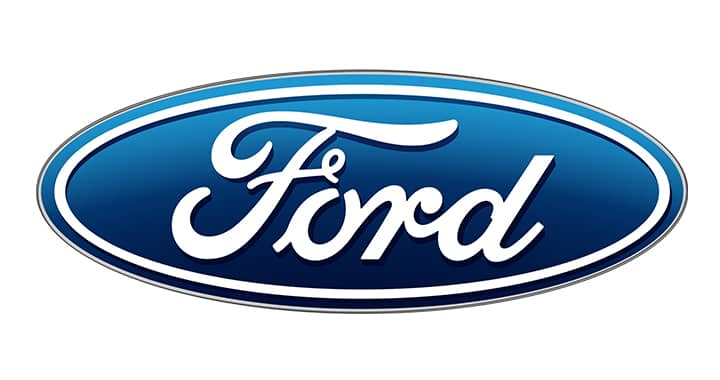 Logo of Ford to represent the Ford Fiesta case study