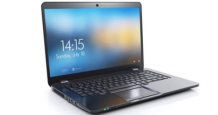 Image of a Laptop computer to portray the case study of Hewlett-Packard